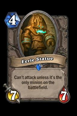 Eerie Statue