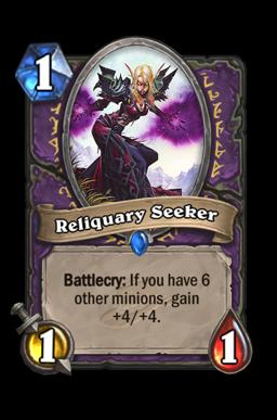 Reliquary Seeker