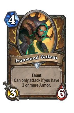 Ironwood Golem