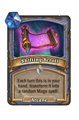 Shifting Scroll