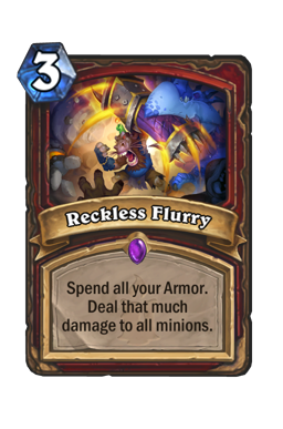 Reckless Flurry