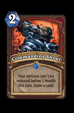 Commanding Shout