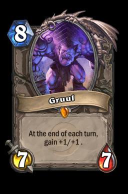 gruul legendary kártya disenchant Naxxramas Hearthstone