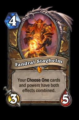 staghelm legendary kártya disenchant Naxxramas Hearthstone