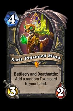 xaril legendary kártya disenchant Naxxramas Hearthstone