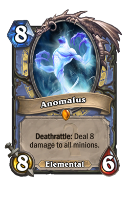 anomalus legendary kártya disenchant Naxxramas Hearthstone