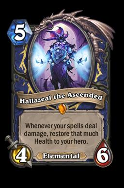 hallazeal legendary kártya disenchant Naxxramas Hearthstone