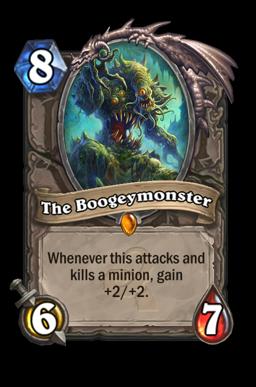 boogey legendary kártya disenchant Naxxramas Hearthstone