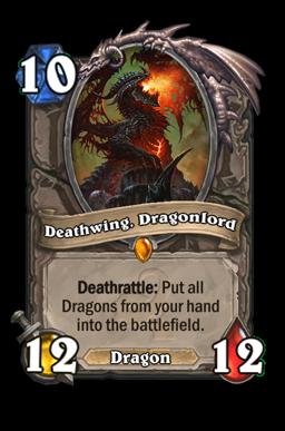 dragonlord legendary kártya disenchant Naxxramas Hearthstone