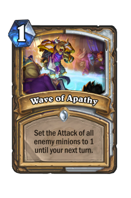 Wave of Apathy