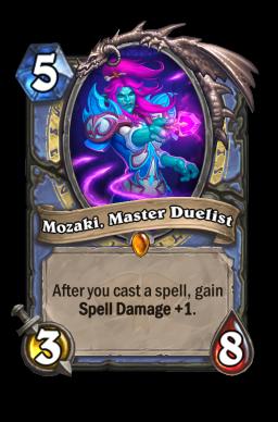 Mozaki, Master Duelist