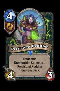 Persistent Peddler