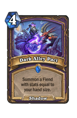 Dark Alley Pact