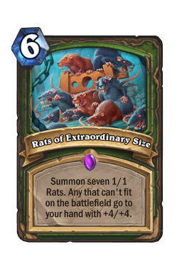 Rats of Extraordinary Size