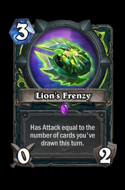 Lion's Frenzy