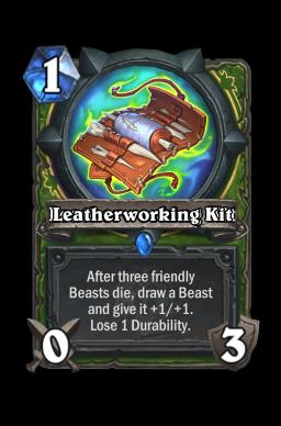 Leatherworking Kit
