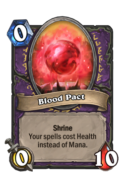 Blood Pact Hearthstone