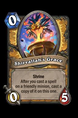 Shirvallah's Grace