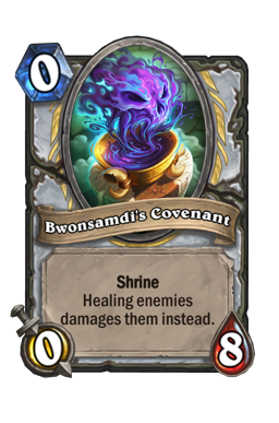 Bwonsamdi's Covenant Hearthstone