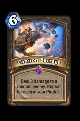 Cannon Barrage