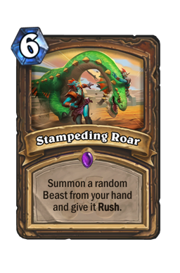 Stampeding Roar