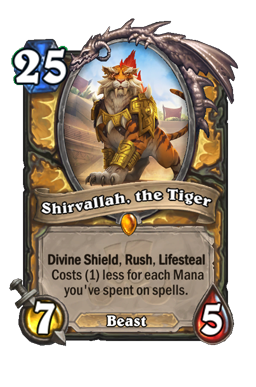 Shirvallah, the Tiger