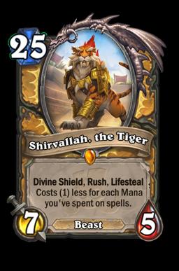 Shirvallah, the Tiger