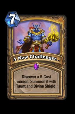 A New Challenger...