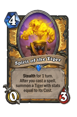 Spirit of the Tiger
