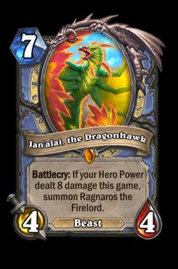 Jan'alai, the Dragonhawk