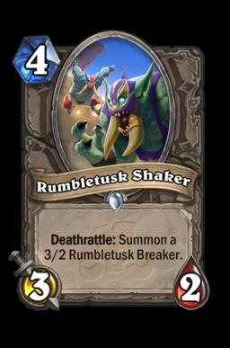 Rumbletusk Shaker
