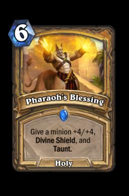 Pharaoh's Blessing