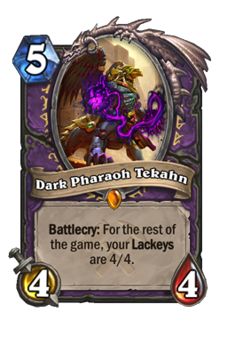 Dark Pharaoh Tekahn