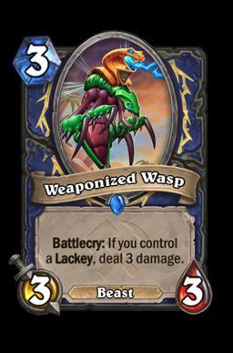 Weaponized Wasp