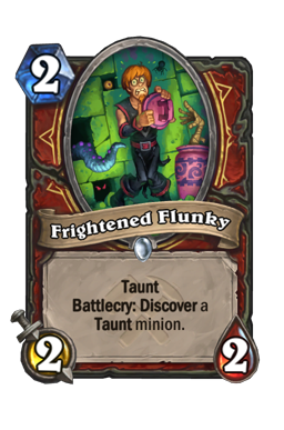 Frightened Flunky