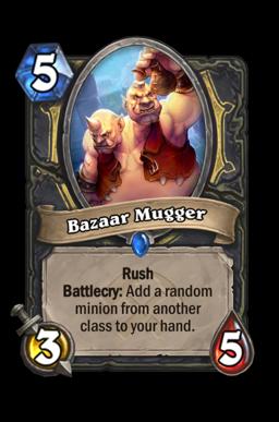 Bazaar Mugger