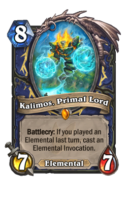 Kalimos, Primal Lord