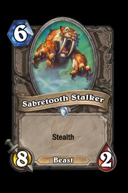 Sabretooth Stalker