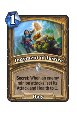 Judgment of Justice