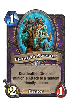 Fiendish Servant