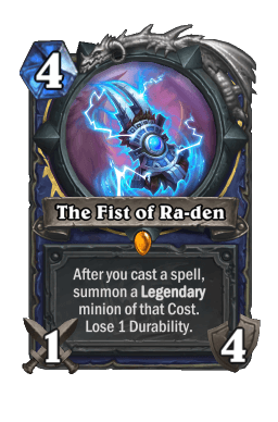 The Fist of Ra-den