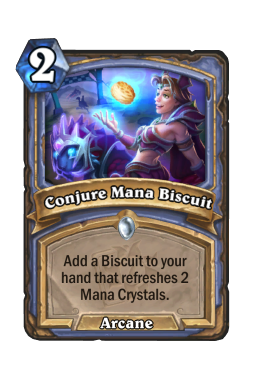 Conjure Mana Biscuit