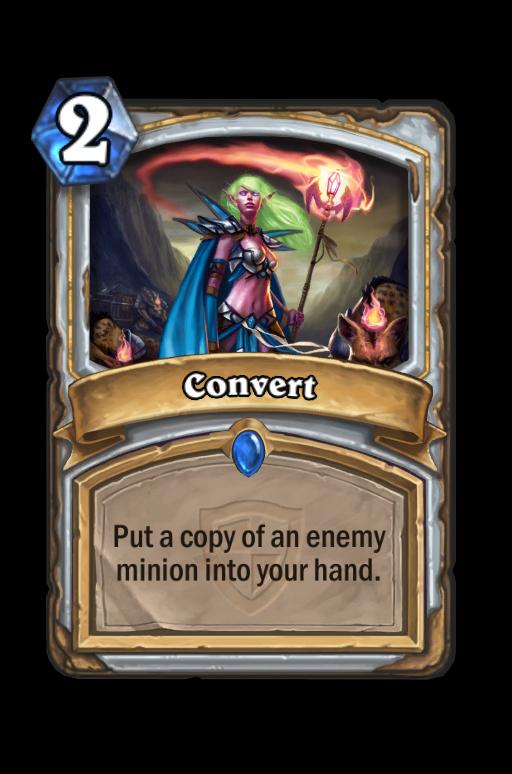Convert Hearthstone kártya