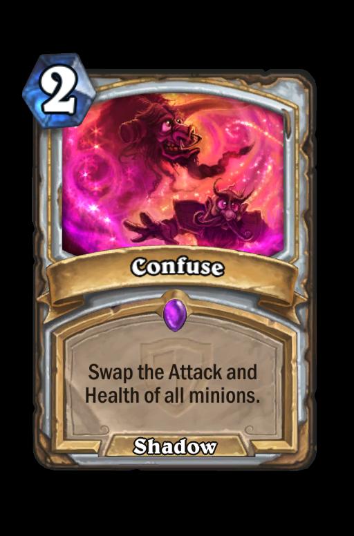 Confuse Hearthstone kártya
