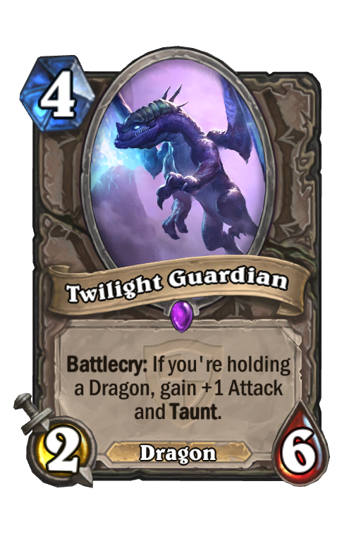 Twilight Guardian Hearthstone kártya