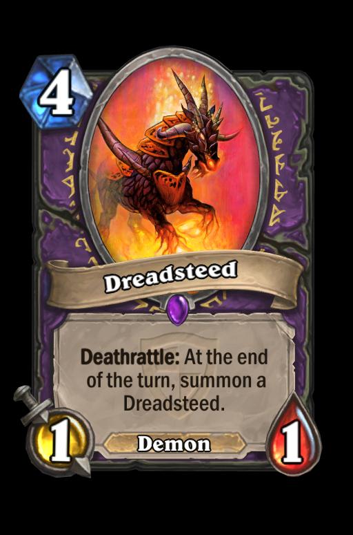 Dreadsteed Hearthstone kártya