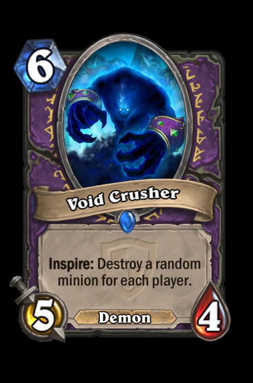 Void CrusherHearthstone kártya