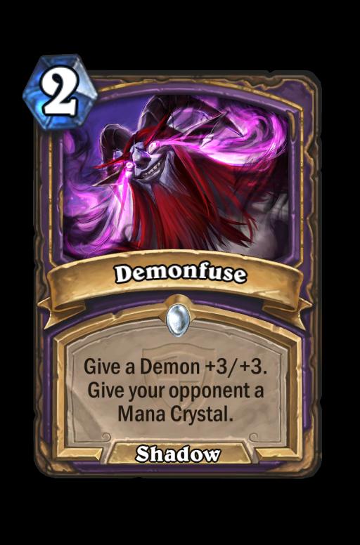 Demonfuse Hearthstone kártya