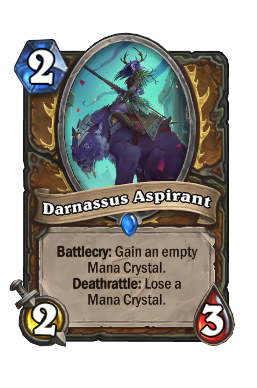 Darnassus Aspirant Hearthstone kártya