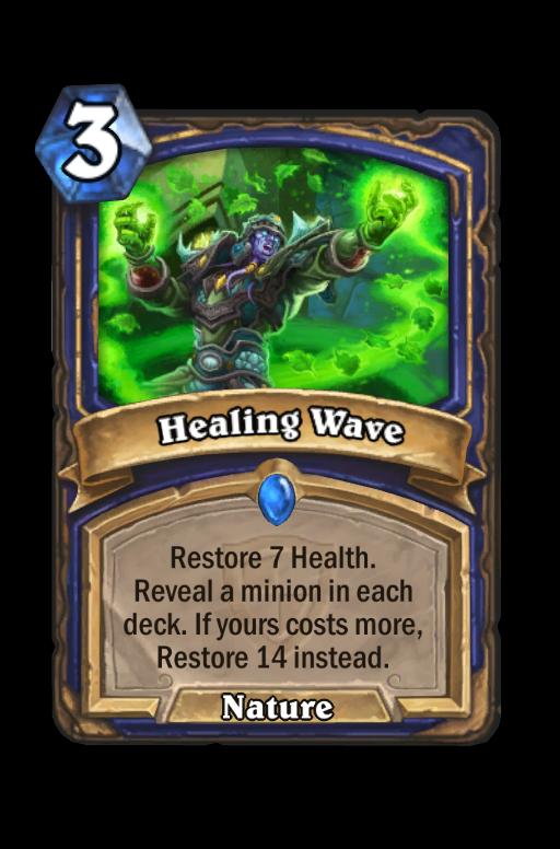 Healing WaveHearthstone kártya